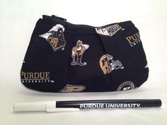 Purdue University Boilermakers Pleated Zippered by TheZippyElf