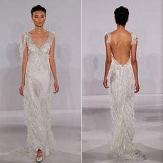 Brides Magazine: Wedding Dress Trends for 2012 | Wedding Dresses and Style | Brides.com FALL 2012 SEXY BACKS