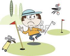 Golf de dibujos animados