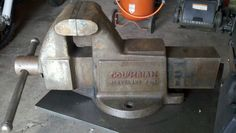 804 columbian fixed up nice columbian bench vises pinterest bench