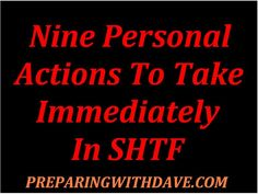 Personal Actions