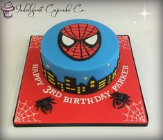 Spiderman Cake......