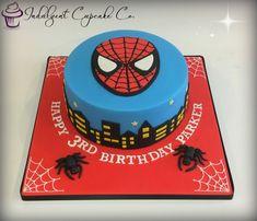 Spiderman Cake......