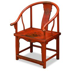 Elmwood Red Ming Chair