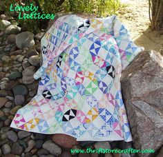 Lovely Lattices QuiltTutorial on the Moda Bake Shop. http://www.modabakeshop.com