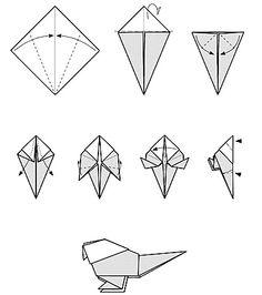 konfirmation origami taube simple einfach erstkommunion ideen pinterest tauben. Black Bedroom Furniture Sets. Home Design Ideas