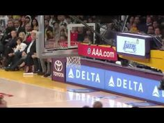 Kobe Bryant Triple-Double 22 points 11 rebounds and 11 assists on 18 November 2012 Lakers