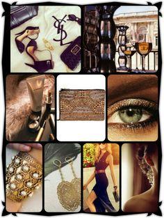 Classy Gold/Black
