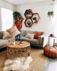 Bohemian Home Decor boholivingroom bohemianwohnen Bohemian Home Decor boholiv bohemian bohemianwohnen boholiv boholivingroom Decor Home Apartment Inspiration, Room Inspiration, Boho Living Room, Home And Living, Small Living, Modern Living, Earthy Living Room, Cozy Living Rooms, Interior Design Living Room