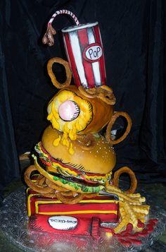 Junk Food Cake by Alliance Bakery, via Flickr