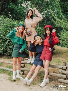 Fashion Trends – Designer Fashion Tips Korean Girl Fashion, Ulzzang Fashion, Korea Fashion, Cute Fashion, Asian Fashion, Couple Outfits, Girl Outfits, Fashion Outfits, Fashion Trends