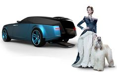 The Rolls-Royce Shooting Brake concept, designed over the Ghost chassis by Niels van Roij. The Rolls-Royce Shooting Brake by Niels van Roij… Auto Rolls Royce, Rolls Royce Wraith, Rolls Royce Phantom, Rolls Royce Concept, Lux Cars, Futuristic Armour, Shooting Brake, Car Design Sketch, Unique Cars
