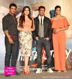 Hate Story 3 trailer launch: Karan Singh Grover Zarine Khan Sharman Joshi turn the heat on view HQ pics! Zarine Khan, Hate, Product Launch, Indian, Elegant, Dresses, Fashion, Classy, Vestidos