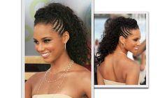 Penteados de festa - crespo/afro