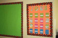Clutter-Free Classroom: polka dot