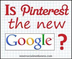 Is Pinterest the new Google?