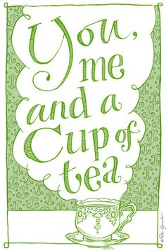 Nothing like being surrounded by friends, family, and tea.