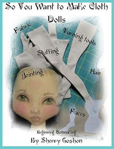 Cloth Dolls Books and CDs from Doll Maker's Journey