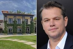 "Matt Damon is selling his Miami Beach Estate ""Maravilla"" Celebrity Mansions, Celebrity Houses, Matt Damon, Hollywood Beach Florida, Global Real Estate, Rich Home, Million Dollar Homes, South Beach Miami, Expensive Houses"