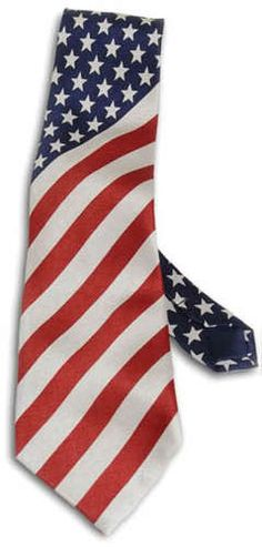 Show your patriotism in the office with a bold tie! American Pride, American Flag, I Love America, Old Glory, Red White Blue, Neckties, Armed Forces, God, Quilts