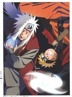 Naruto and Jiraiya Naruto Uzumaki, Anime Naruto, Manga Anime, Naruto Art, Naruto And Sasuke, Sasunaru, Naruhina, Hinata, Emo Anime Girl