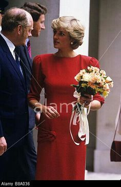 Diana could wear any colour and look stunning