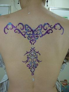 my new obsession   full back color tribal tattoo.jpg