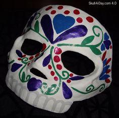 Dia de la Abby #31: Sugar Skull Mask