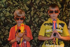 Nerf party photo booth