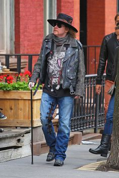 Axl Rose Spotted in NYC