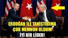 Trump'dan Erdoğan'a Övgü Dolu Sözler | Çok İyi İşler Yapıyor Tebrik Ederim