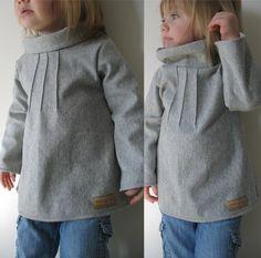 Sewing pattern: pintuck sweater tunic
