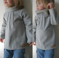 Pintuck Sweater Tunic Pattern