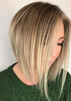 Do you want to update your hair looks according to modern style? There are so many ideas latest hairstyles and haircuts that you may use to wear for best hair looks. In this post we have tried our best to show off the amazing trends of angled bob blonde haircuts to create in year 2018. Use these cool bob cuts in 2018.