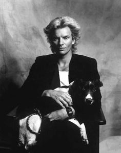 Sting & His Dog