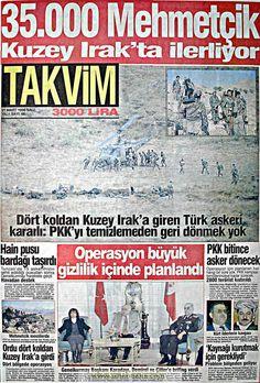 Takvim gazetesi 21 mart 1995