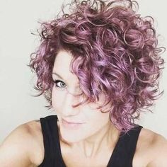 Short Curly Hairstyles 2018 16