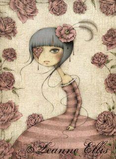 Artist::Leanne Ellis>>Illustration Friday