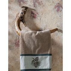 Faux-Antler Hand-Towel Hook at Cabelas