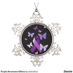 Shop Purple Awareness Ribbon Snowflake Pewter Christmas Ornament created by xalondrax. Firefighter Quotes, Volunteer Firefighter, Firefighters, Volunteer Gifts, Volunteer Appreciation, Snowflake Ornaments, Snowflakes, Christmas Ornaments, Wedding Color Schemes