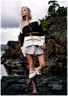 By Malene Birger in Norwegian Det Nye. Malene Birger, Hipster, Knitting, Nye, Fall, Fashion, Autumn, Moda, Hipsters