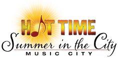 Get fabulous ideas for planning your summer in Nashville! Hot Time: Summer in Music City. #HotNashville
