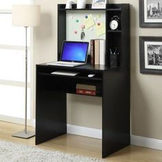 Convenience Concepts Student Desk with Magnetic Bulletin Board - 131524