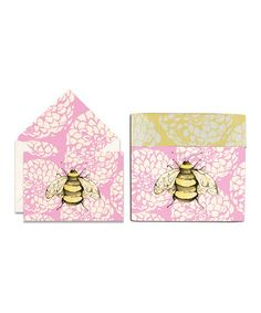 Take a look at this Cid Pear Bee Sweet Notes Note Card Set by Cid Pear on #zulily today!