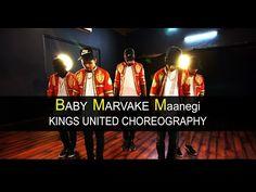 Kings United Marvake Maanegi.   Dance: Karthik Priyadharshan | Charles Edward | Raja Das | Chandan Acharya | Pratik Gojare | Aryan Noobby Style: #hiphop Music: Baby Marvake Maanegi | Raftaar