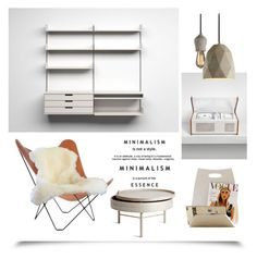 """My Dream House ~Minimalism~"" by gangdise ❤ liked on Polyvore featuring interior, interiors, interior design, home, home decor, interior decorating, Menu, minimalism and homedesign"