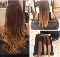 Dream Catchers Hair Extensions Hair Extensions Dreamcatchers  Ombré Balayage  Color & Highlights