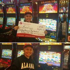 Congrats on your #winningmoment Evelyn! She hit $16,455.36! Yay! #JackpotWinner #WindCreekAtmore