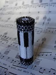 Until We Bead Again, Beth Murr: Beaded Piano Needle Case Pattern