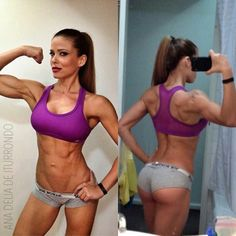 Ana Delia- Fitness Model.. Working on this type of body